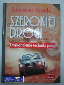 SZEROKIEJ DROGI DOSKONALENIE TECHNIKI JAZDY - 2822572674