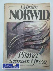 PISMA WIERSZEM I PROZĄ - 2822573586