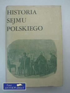 HISTORIA SEJMU POLSKIEGO TOM II CZ - 2822574436