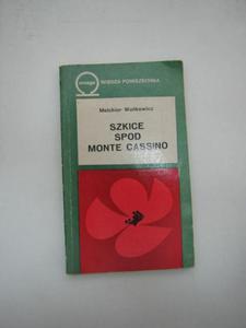 SZKICE SPOD MONTE CASSINO - 2822574929