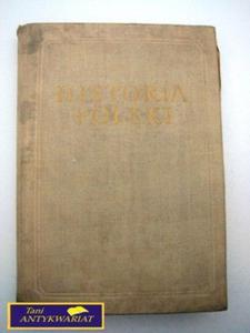 HISTORIA POLSKI TOM I DO ROKU 1764 - 2822519225