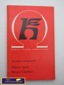 SZKICE SPOD MONTE CASSINO- Melchior Wańkowicz - 2822519484