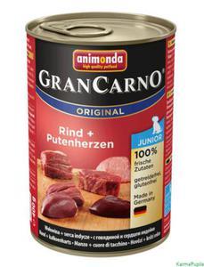 Animonda GranCarno Adult 400g wołowina z sercami - 2832475008