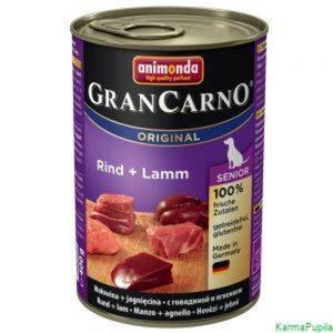 Animonda GranCarno Senior 400g wołowina z jagnięciną - 2832474250