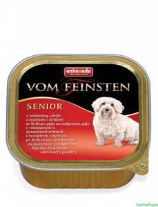 Animonda Vom Feinsten Senior Wołowina z drobiem 150g - 2832474274