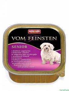 Animonda Vom Feinsten Senior Drób z jagnięciną 150g - 2832474275