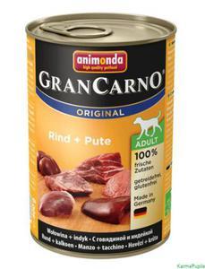 Animonda GranCarno Adult 400g wołowina z indykiem - 2832474309