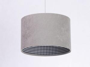 Lampa wisząca Kamelia Pepitka Szara 40cm 010-002-40 - 2852442810