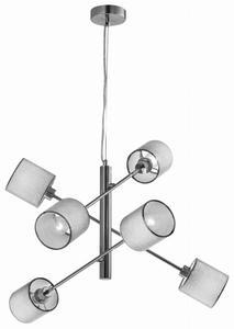 SAX LAMPA WISZĄCA LINKA 6X40W E14 SATYNA 36-70722 Candellux - 2907068956