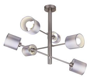 SAX LAMPA WISZĄCA SZTYCA 6X40W E14 SATYNA 36-70715 Candellux - 2907068958