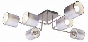 SAX LAMPA SUFITOWA 6X40W E14 SATYNA 36-70708 Candellux - 2907068961