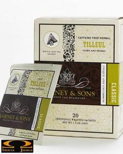 Herbata Harney & Sons Tilleul, kartonik piramidki 20 szt. - 2832351809