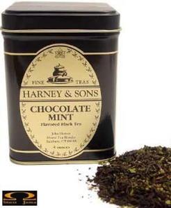 Herbata Harney&Sons - Chocolate Mint puszka liściasta 198g - 2832351844