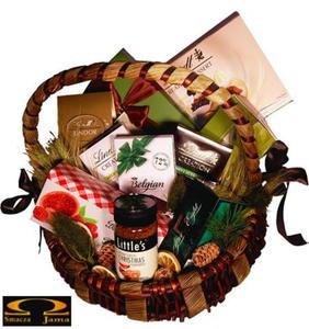 Kosz delikatesowy Świąteczny Relaks - 2832352951