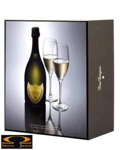 Szampan Dom Perignon Blanc 2000 , 0,7l +2 kieliszki - 2832353459