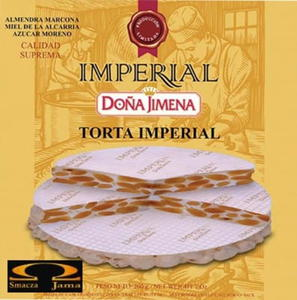 Turron Torta del Imperial Dona Jimena 200g - 2832350809