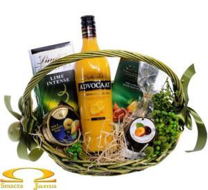 Kosz Delikatesowy Zielona Pisanka - 2858335844