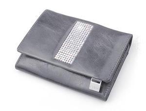 cda4df72f181e cv-530 skórzany portfel z kamieniami swarovskiego szary - 2826064408