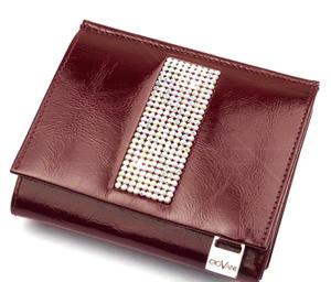 39e3ace604fd0 cv-210 skórzany portfel z kamieniami swarovski - 2826064414