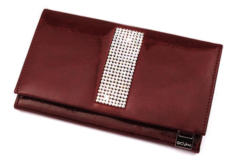 f5da43ab87438 cv-250 skórzany portfel z kamieniami swarovski - 2826064420