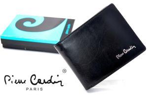 208e37ca1e0a1 PIERRE CARDIN 910-L czarny portfel męski *NEW - 2859674800