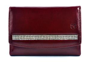 sv-260 portfel damski z kamieniami swarovskiego - 2826064362