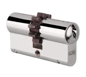 Wkładka bębenkowa LOB zębata HEKTOR WP110 30/45 nikiel 3 klucze