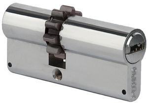 Wkładka bębenkowa zębata Gerda PRO-SYSTEM 30/40 satyna 5 kluczy atestowana