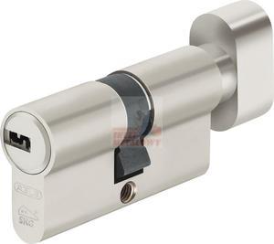 Wkładka bębenkowa KD10 30/35G NP nikiel 5 kluczy atestowana