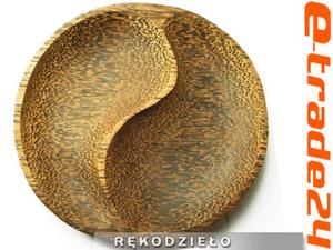Patera MISA Drewno Kokosowe Rękodzieło 17,5cm Feng Shui