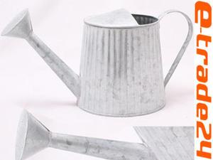 Stylowa Metalowa Konewka do Podlewania I Dekoracji XL - 2827807381