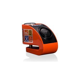 Blokada na tarczę z alarmem XZZ6 pomarańczowa - bolec 6 mm - 2848051890