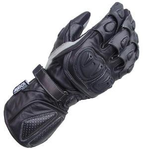 Rękawiczki skórzane Lookwell Sniper SPS czarne - 2848053743