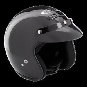 Kask motocyklowy ROCC Classic czarny metaliczny - 2848056216