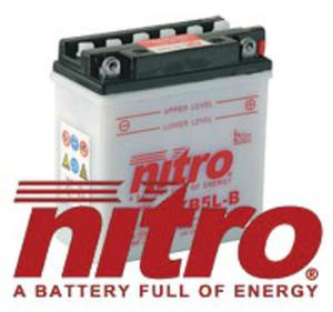 Akumulator NITRO YB5L-BS Maintenance free with acid pack - 2848056568