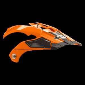 Daszek do kasku ROCC 771 neonowo-pomarańczowy - 2848056593