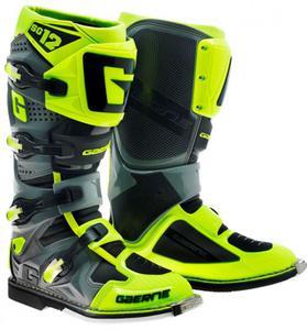 Buty motocyklowe GAERNE SG-12 żółte - 2848056772