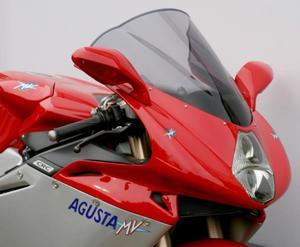 Szyba motocyklowa MRA MVAGUSTA F4 1000 -2009 / F4 750 -2009 forma - R3 (niebieska) - 2848059945