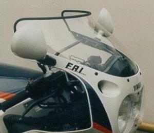 Szyba motocyklowa MRA YAMAHA FZR 1000 -1988 forma - S8 (czarna) - 2848060192