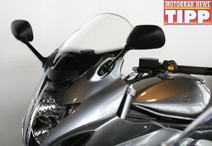 Szyba motocyklowa MRA SUZUKI GSF 650 S 2009- forma - T0 (bezbarwna) - 2848060635