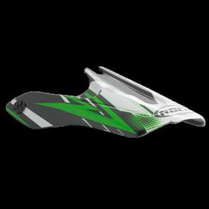 Daszek do kasku ROCC 710 Jr. zielony - 2848060948