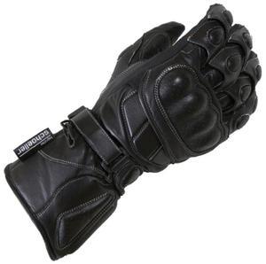 Rękawiczki skórzane Lookwell Speedy czarne - 2848062095