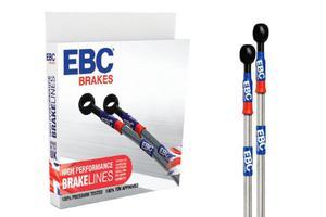 Przewody hamulcowe EBC oś Tył KAWASAKI KX 250 06-07 - 2848065247