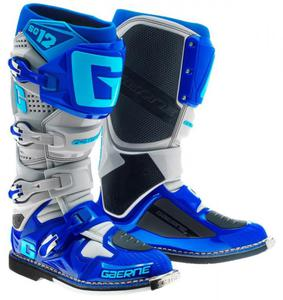 Buty motocyklowe GAERNE SG-12 niebieskie - 2848066344