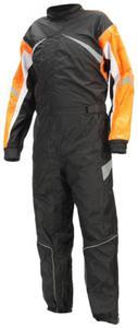 Kombinezon przeciwdeszczowy Lookwell Hiker czarno pomarańczowy - 2848067007