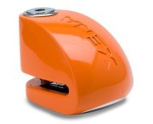 Blokada na tarczę z alarmem XX6 - pomarańczowa - bolec 6 mm - 2848069043