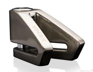 Blokada na tarczę bez alarmu X2 srebrna - bolec 14mm - 2848069645