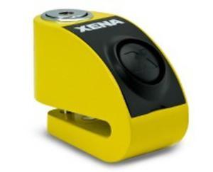 Blokada na tarczę z alarmem XZZ6 żółta - bolec 6 mm - 2848070330