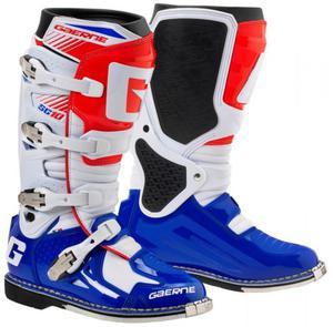 Buty motocyklowe GAERNE SG-10 biało-niebiesko-czerwone 48 - 2848070505