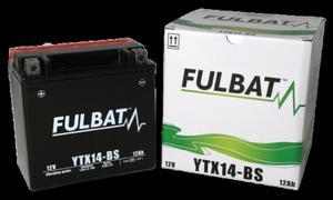 Akumulator FULBAT YTX14-BS (AGM, kwas dołączony) - 2848073508